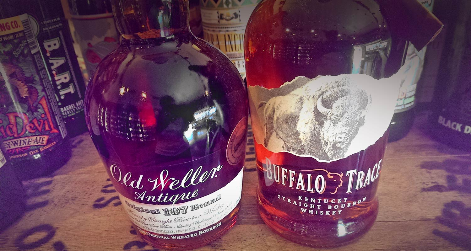 New Arrivals: Old Weller and Buffalo Trace (Healthy Spirits Single Barrel Selects)