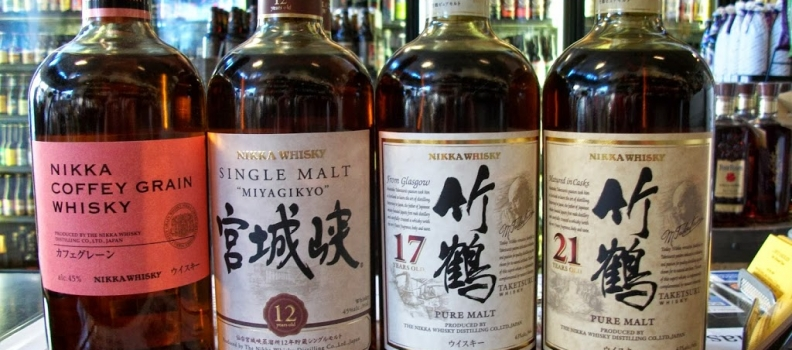 "New Arrivals: Nikka 12 Year ""Miyagikyo"", Nikka 21 Year Taketsuru, Nikka 17 Year Taketsuru, Nikka Coffey Grain"