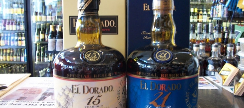 New Rums: El Dorado 21 year and 15 year!
