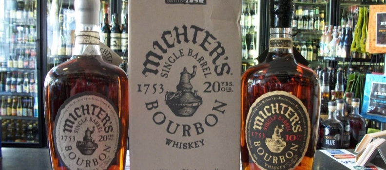 New Arrivals: Michter's 20 year and 10 year single barrel bourbons!!
