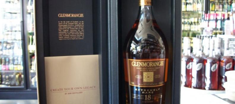 New Arrival: Glenmorangie Rare 18 Year Single Malt!