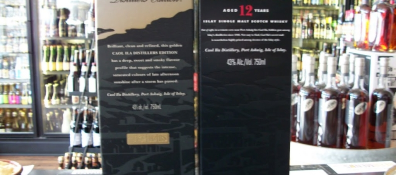 Caol Ila 12 year and Caol Ila Distiller's Edition now in stock!