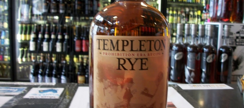 Templeton Rye hits shelves!