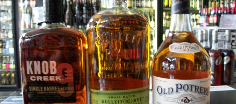 New Arrivals: Bulleit Rye, Knob Creek Single Barrel and Old Potrero Hotaling's