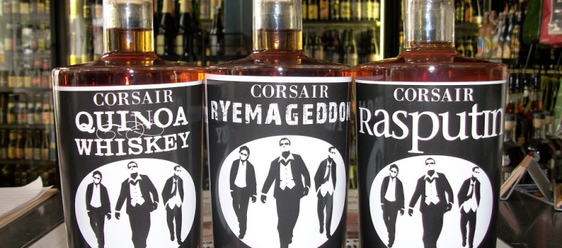 New Arrivals: Corsair Rasputin, Ryemageddon and Quinoa Whiskey!