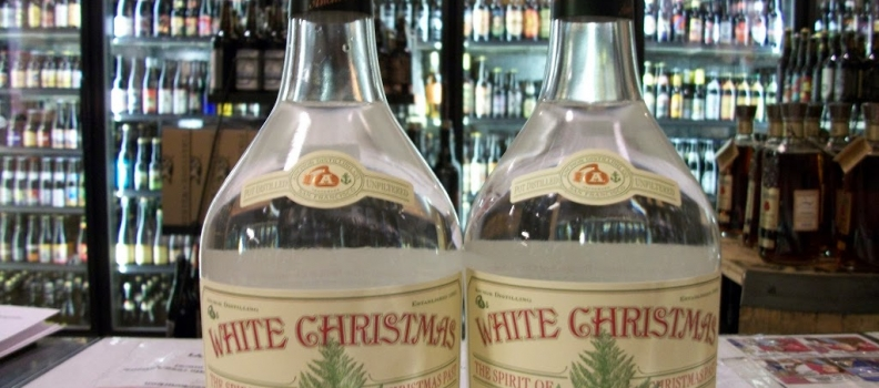 New Arrivals: Anchor White Christmas (White Whiskey distilled from 2012 Anchor X-Mas Beer)