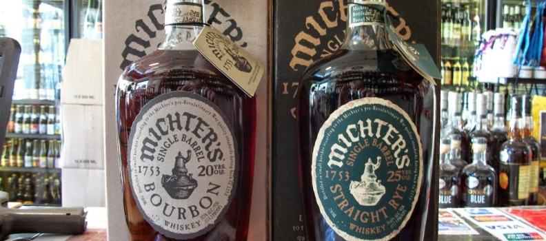 New Arrivals: Michter's 20 Year Bourbon and Michter's 25 Year Rye
