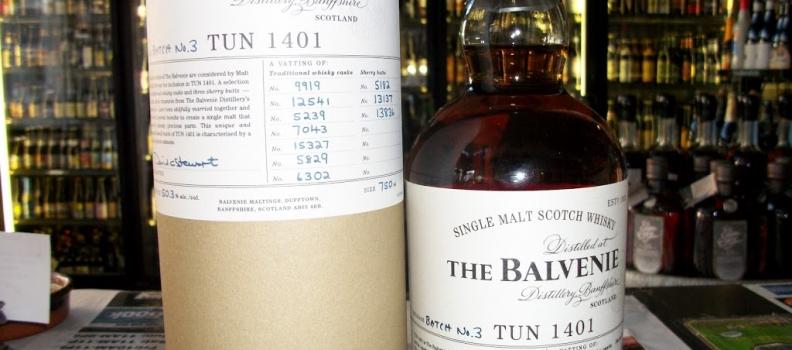 New Arrival: Balvenie Tun 1401 Batch #3!