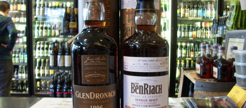New Arrivals: Glendronach 17 year cask strength PX single cask, Ben Riach 19 year cask strength PX single cask