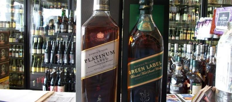 New Arrivals: Johnnie Walker Platinum 18 Year and Johnnie Walker Green 15 Year!