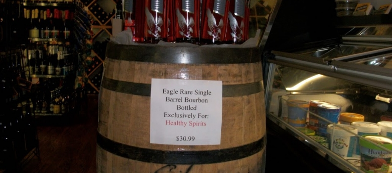 New Arrivals: Rittenhouse Rye and Healthy Spirits Exclusive Eagle Rare Barrel