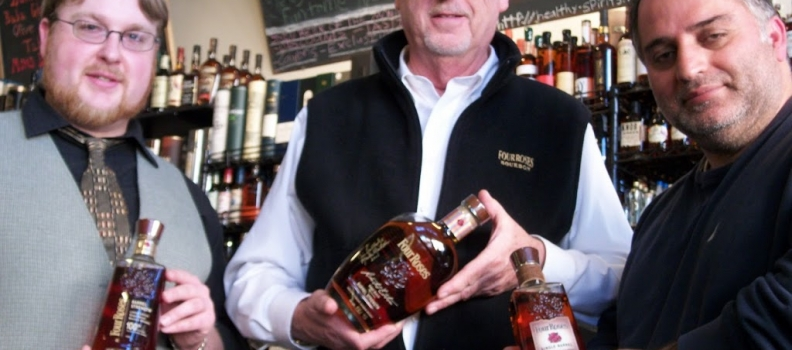 Master Distiller from Four Roses visits Healthy Spirits!