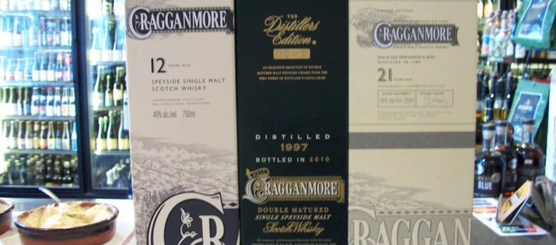 New Arrivals: Cragganmore 12 year, Cragganmore Distiller's Edition, Cragganmore Cask Strength 21 year!