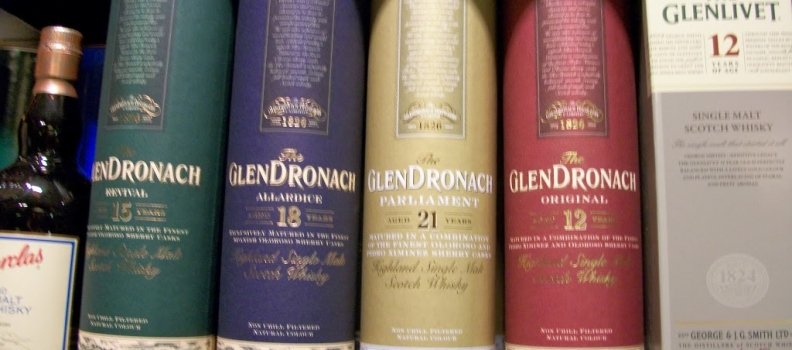 New Arrivals: Glendronach 21 year and 18 year single malt scotch
