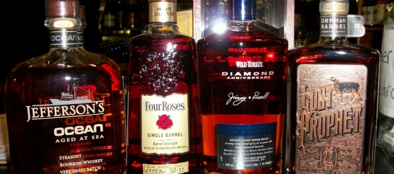 "New Arrivals: Lost Prophet 22 Year, Wild Turkey Diamond, Jefferson's Ocean Aged, Four Roses ""Nate's Barrel"""
