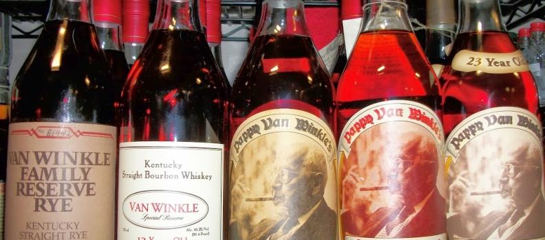New Arrivals: Pappy Van Winkle bourbons!