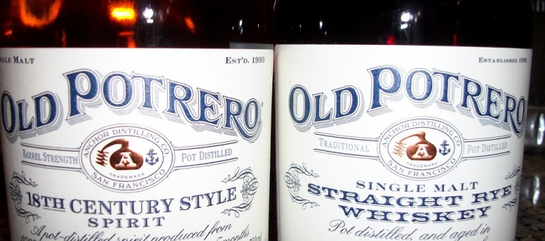 Old Potrero 18th Century and Straight Rye Whiskey in Stock!