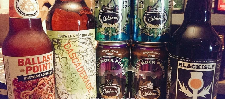 New Arrivals: Ballast Point Grapefruit Sculpin, Sudwerk Cascaderade, Caldera Lawnmower Lager and more…