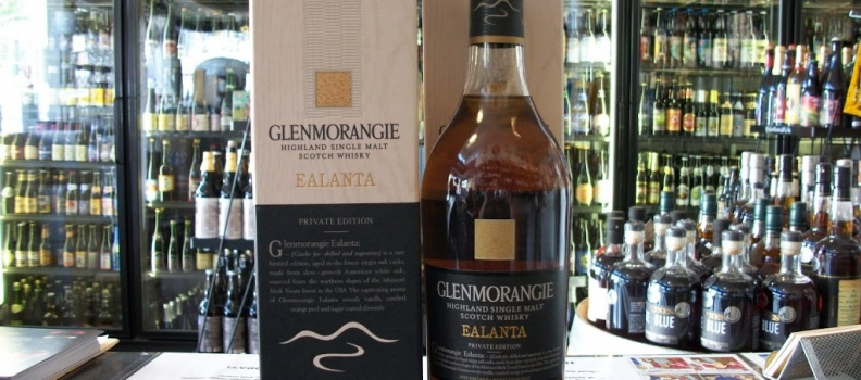 New Arrivals: Glenmorangie Ealanta Private Edition Scotch!