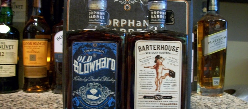 New Arrivals: Barterhouse 20 year and Old Blowhard 26 year bourbons!