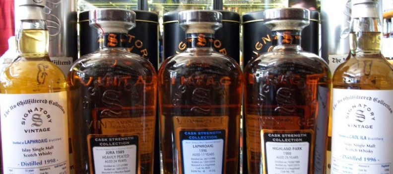 New Arrivals: 5 New Signatory Single Malt Scotch Casks!