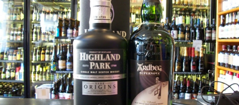 New Arrivals: Ardbeg Super Nova and Highland Park Dark Origins!