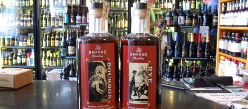 New Arrivals: Amador Barrel Strength Bourbon and Rye!