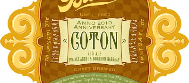 The Bruery's COTON: Please Read Carefully