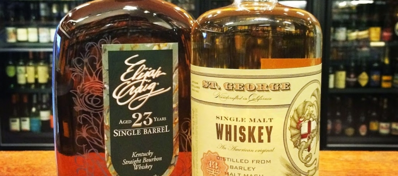 New Arrivals: St. George Lot 14 Single Malt Whiskey & Elijah Craig 23yr Single Barrel Bourbon!