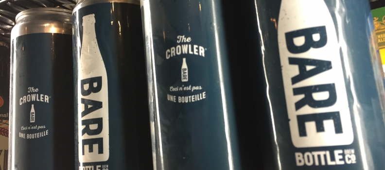 Limited Barebottle Crowlers: On Shelves Friday, September 2nd