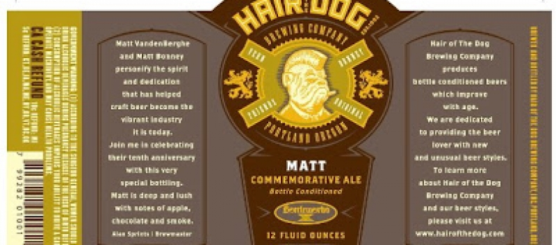 SPECIAL RELEASE: HAIR OF THE DOG MATT-READ CAREFULLY!!!