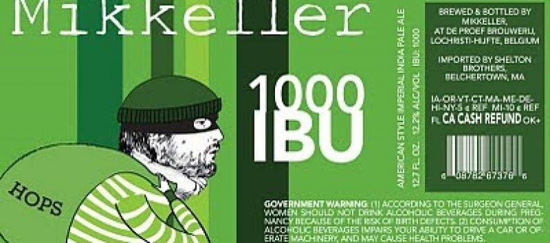Healthy Spirits: Mikkeller 1000 IBU and more!!!