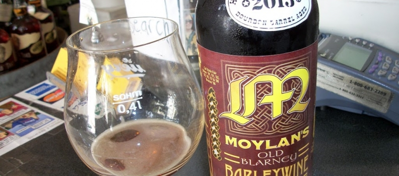 Healthy Spirits: Bourbon Barrel Aged Moylan's Old Blarney Barley Wine
