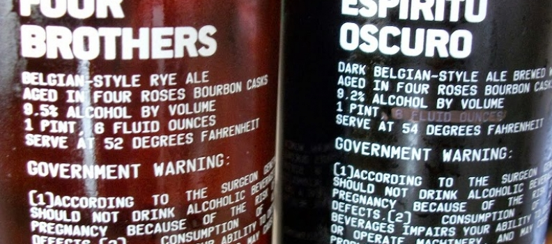 Healthy Spirits: ESPIRITU OSCURO AND FOUR BROTHERS Exclusive Release!