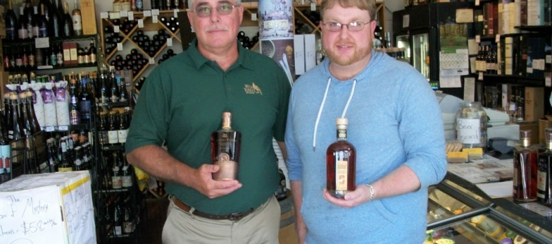 Eddie Russell, Distiller at Wild Turkey, stops by the shop!