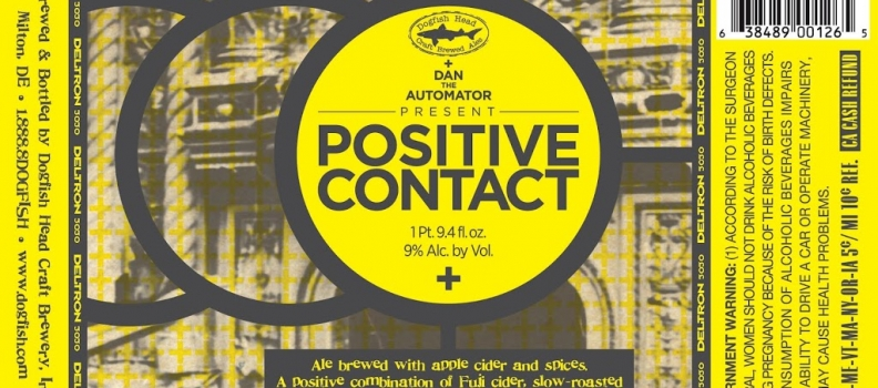 Healthy Spirits: Dogfish Head Positive Contact bottles