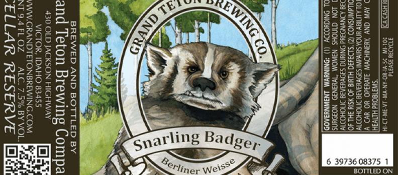 Healthy Spirits: Grand Teton Snarling Badger Berliner Weisse