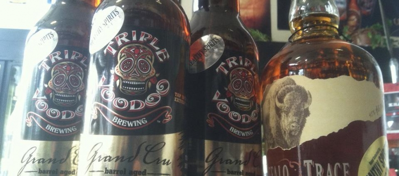 Healthy Spirits: Triple Voodo Bourbon Barrel Aged Grand Cru Release