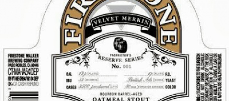 Healthy Spirits: Firestone Walker Velvet Merkin (Please Read Carefully)