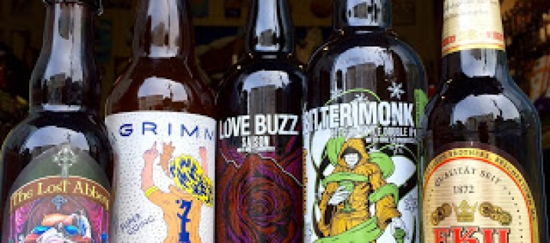 New arrivals from Anchorage Brewing, Grimms, and some key restocks!