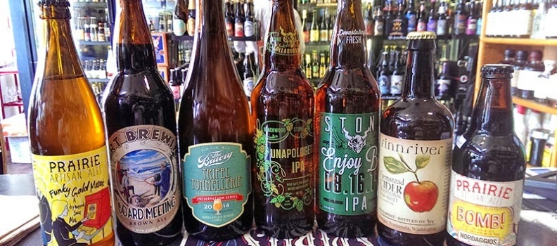 New Arrivals: Stone's Unapologetic, Prairie's Funky Gold Mosaic, Lost Abbey's Saison Blanc and more…
