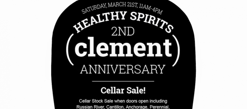 Clement's 2nd Anniversary, 3/21/15