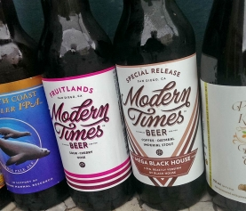 New Beer Arrivals from Modern Times, North Coast, Perennial and more…