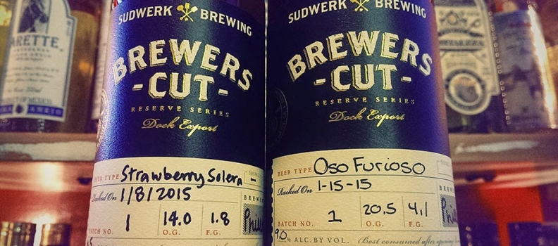SFBW Day 8: Sudwerk's Brewers Cut Reserve Series – Strawberry Solera & Oso Furioso