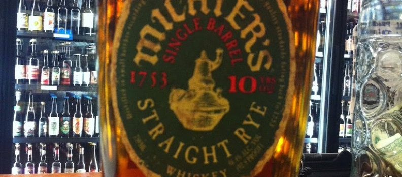 New Arrival: Michter's 10yr Single Barrel Straight Rye Whiskey