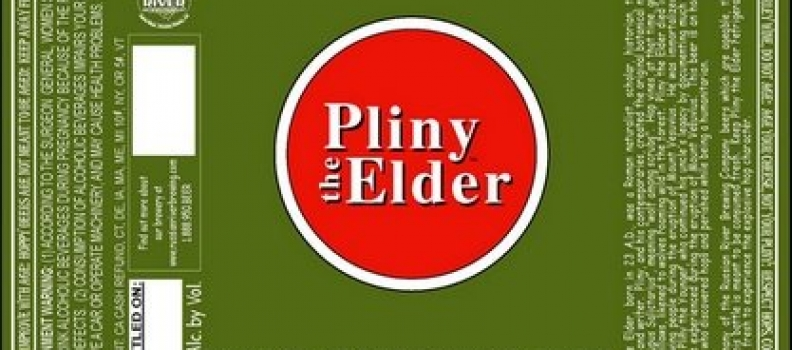 BEER: PLINY THE ELDER NOW AVAILABLE!!!