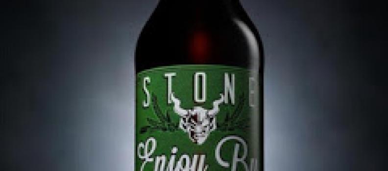 Stone Enjoy By IPA 12/21/12
